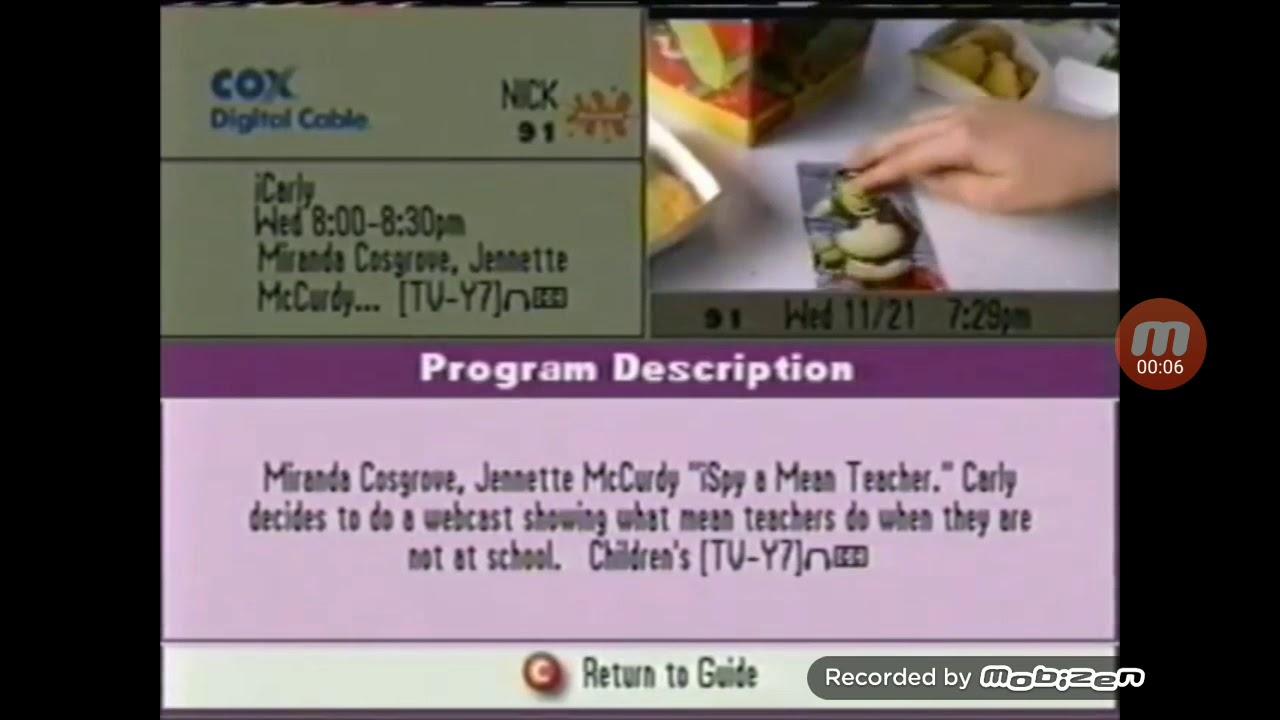 COX Program Guide 11/21/2007
