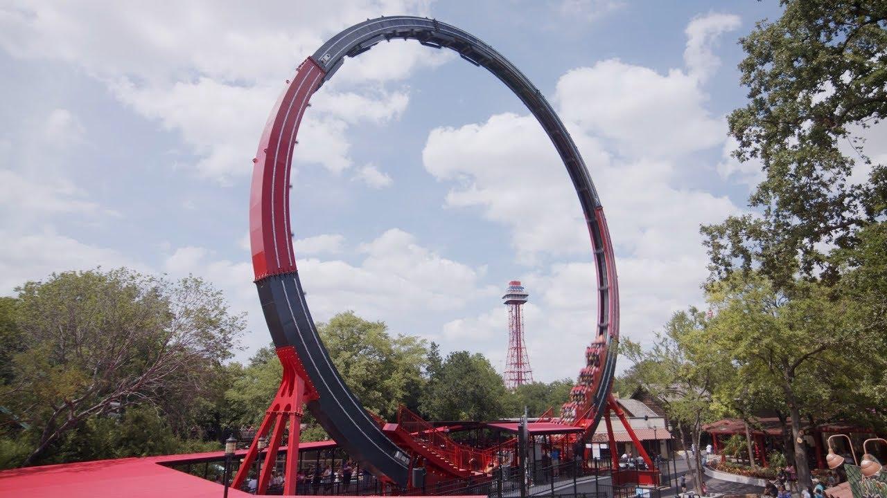 El Diablo Loop Coaster Opens at Six Flags Over Texas