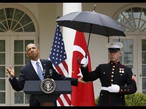 Conservatives Tout Umbrella-Gate
