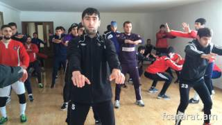 FC Ararat Yerevan first training in 2017