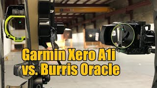 Garmin Xero A1i vs. Burris Oracle: Rangefinding Bow Sights Comparison