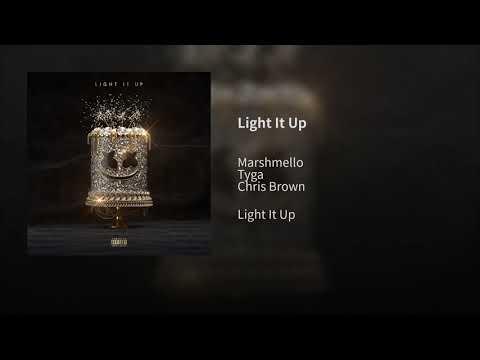 Light It Up (Official Audio) - Marshmello, Tyga, Chris Brown