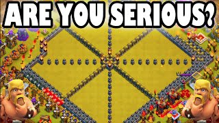 "Clash of Clans - ARE YOU SERIOUS? ""ENEMY COMEBACK GAME STRONG!"" I Suck Ass At Clan Wars!"