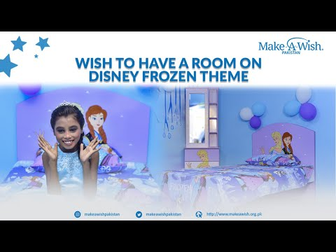 Wish to have a Disney Frozen themed room