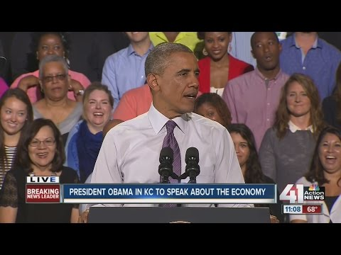 President Obama's speech in Kansas City