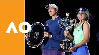 Sofia Kenin vs Garbine Muguruza - Women's Final Trophy Ceremony | Australian Open 2020