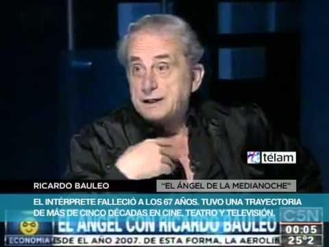 Falleció Ricardo Bauleo, un actor con 50 años de carrera en cine, teatro y televisión