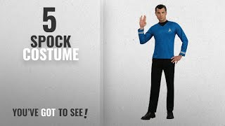 Top 10 Spock Costume [2018]: Rubie