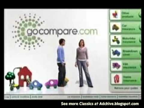 Go Compare Com Car Insurance Tv Ad Youtube