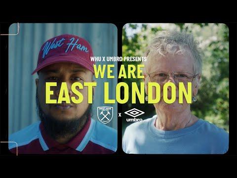 """""""私たちはイーストロンドンです"""" -WESTHAMコレクション2021/2022の発売"""
