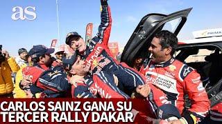 Carlos Sainz gana su tercer Rally Dakar en Arabia Saudí | Diario AS