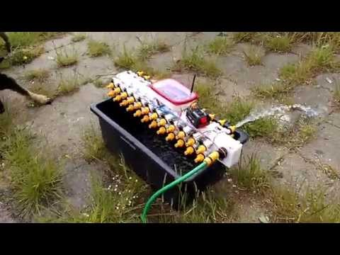 Arduino controlled garden watering system