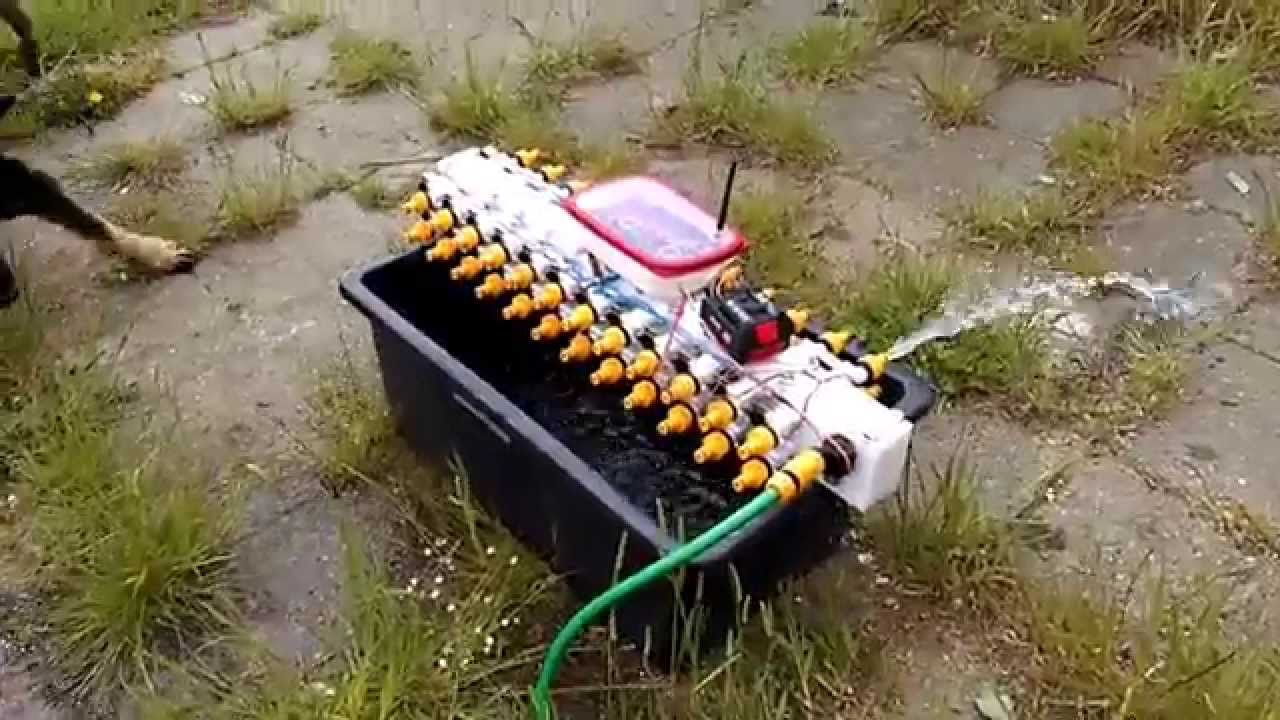 Arduino Controlled Garden Watering System Youtube