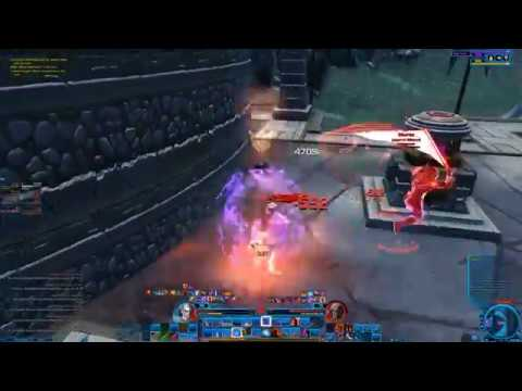 SWTOR-PVP: Level 70 Deception Assassin 248 gear with Wind Crystal Relics All 236 Augments