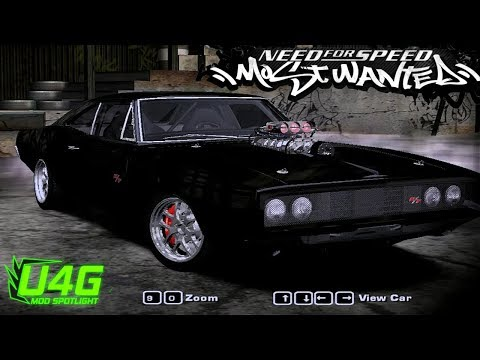need for speed most wanted dodge charger r t multipla doovi. Black Bedroom Furniture Sets. Home Design Ideas