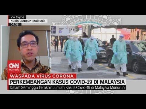 Perkembangan Kasus Covid 19 Di Malaysia Youtube