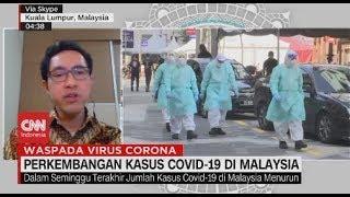 Perkembangan Kasus Covid-19 di Malaysia