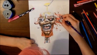 Drawing Eddie #2