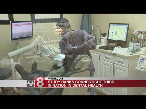 Study: Connecticut ranks among nation's best for dental health