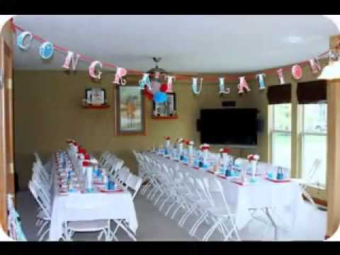 Easy diy wedding shower decorations projects ideas youtube for How to decorate for a bridal shower at home