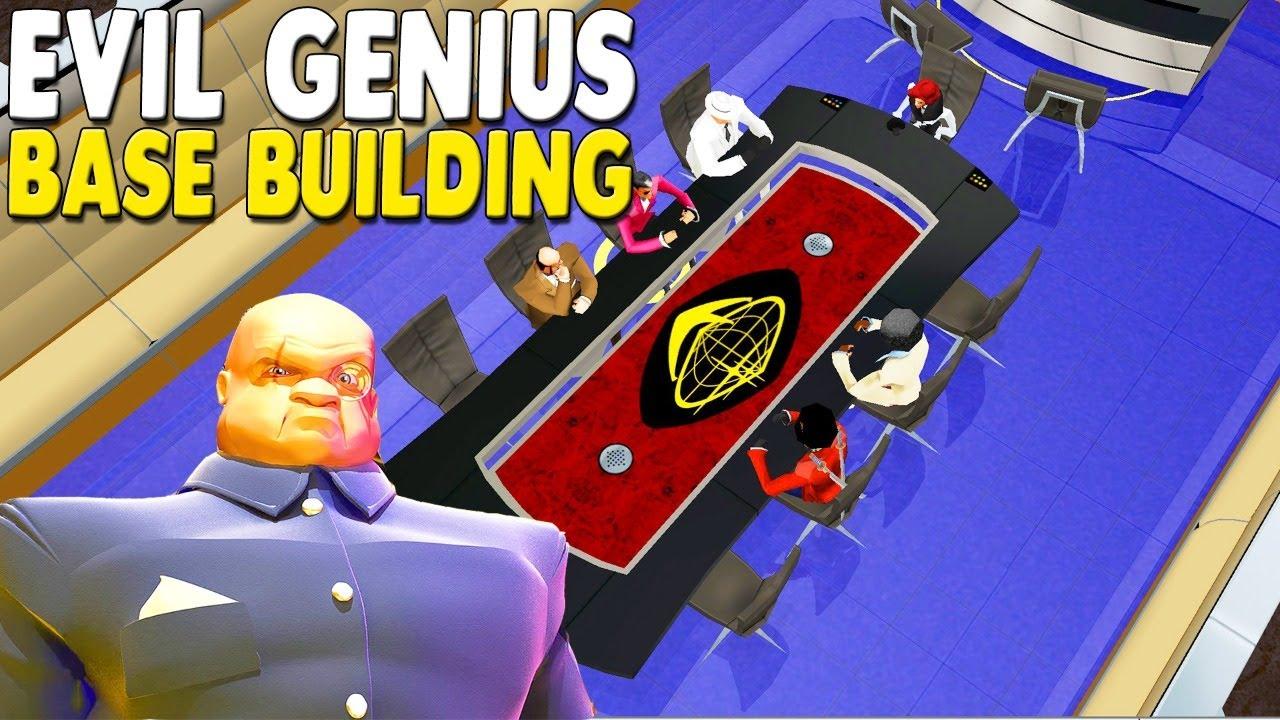 FAVORITE BASE BUILDING GAME Evil Genius | Ep. 3 | Secret Underground Base Build for World Domination