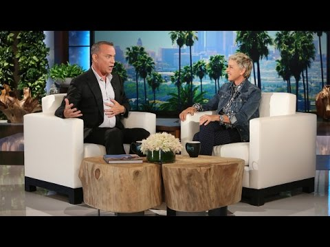 Tom Hanks Creates 'Toy Story'-'Finding Dory' Crossover on 'Ellen' (Video)