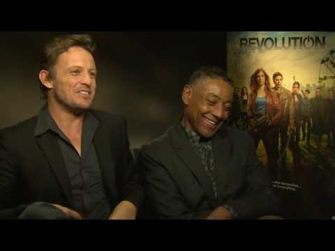 Giancarlo Esposito and David Lyons Interview - Revolution