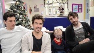 The Coronas say Merry Christmas