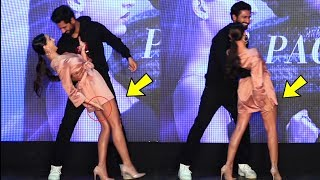 Nora Fatehi EMBARA$$ED With Her Dress at Pachtaoge song Success Party