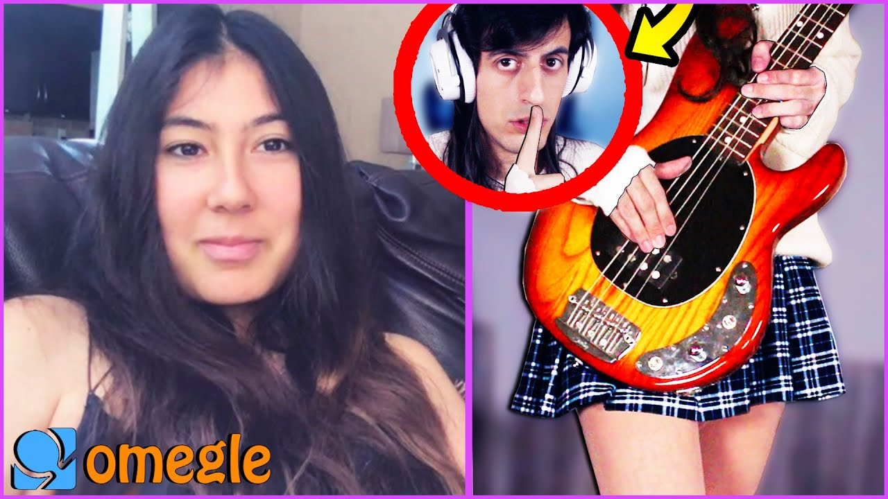 I Pretended to be an ANIME GIRL BASSIST on Omegle (GONE WRONG)