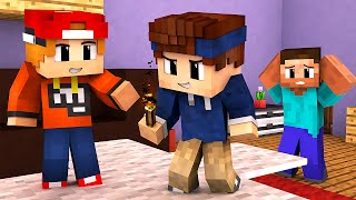 Minecraft - WHO'S YOUR DADDY? | BABY ZÜNDET HAUS AN!