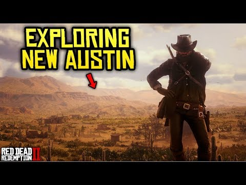 SPOILERS* Red Dead Redemption 2 - EXPLORING NEW AUSTIN! Blackwater ...