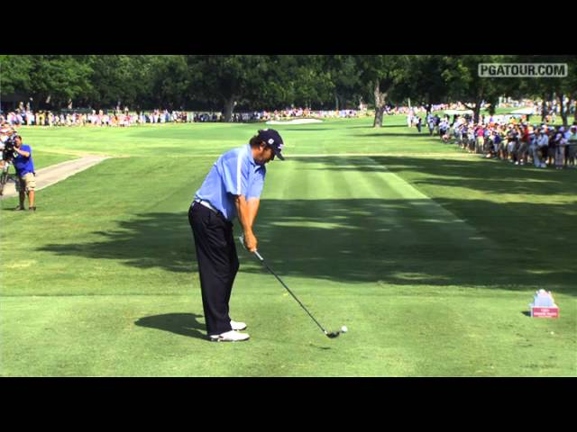 SwingVision: Jason Dufner's tee on No. 9 at Crowne Plaza