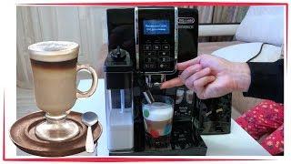 Delonghi ECAM350.55.B mediamarkt Кофемашина Распаковка / Обзор ☕️ Влог как приготовить вкусный кофе
