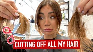 I CUT MY HAIR OFF!!!
