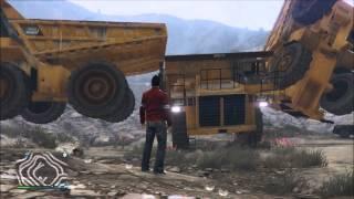 GTA 5 Online Funny Moments  - Passive Mode Glitch, Dump Trucks & More!