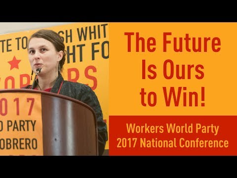 Taryn Fivek, NY Branch Workers World Party