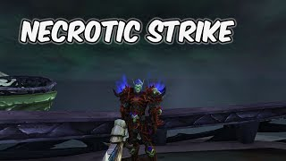 Necrotic Strike OP - Unholy Death Knight PvP - WoW BFA 8.1