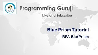 BluePrism Reset Password | RPA | Blue Prism Tutorials