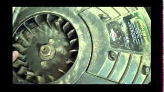 John Deere LA145 Mower Drive Belt Removal