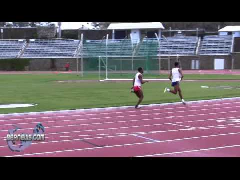 800 Metre Track & Field National Sports Centre Bermuda Feb 12th 2011