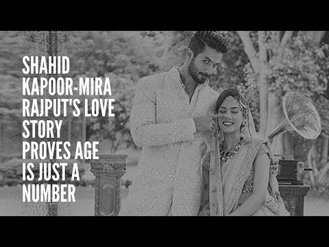 Bollywood's Romantic Chapters: Shahid Kapoor-Mira Rajput's love story proves age is just a number