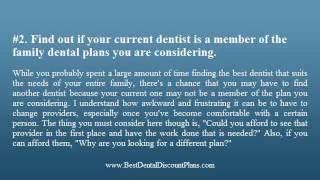 3 Tips For Finding The Best Family Dental Insurance Plans