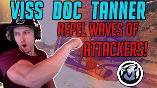 Viss Dr Disrespect and Tanner Repel Waves Upon Waves Of Attackers at Thunderdome! Apex Legends