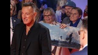 THE BOSS IN TORONTO: Bruce Springsteen Western Stars red carpet