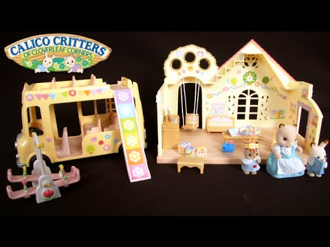 Calico Critters Forest Nursery Gift Set From International Playthings