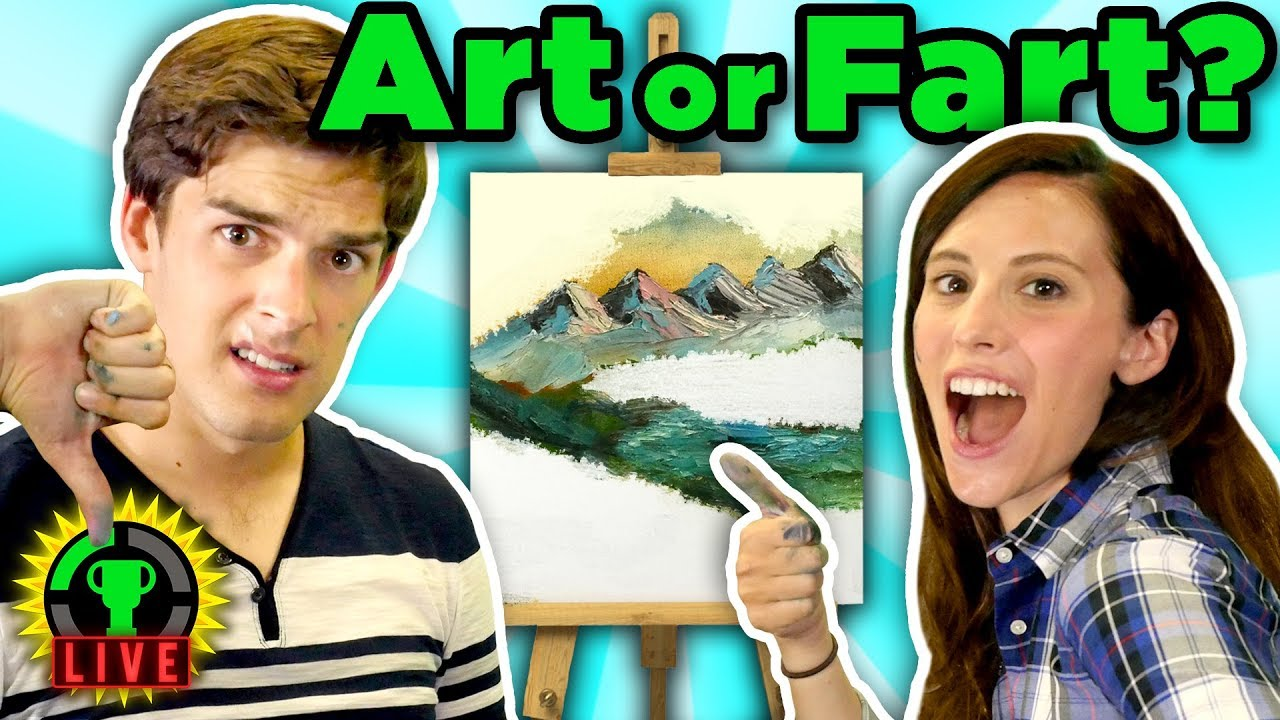 following-a-bob-ross-painting-tutorial-challenge