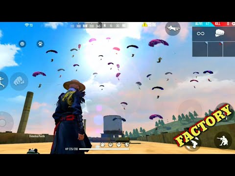 Free Fire Back To Back Fist Headshot - Ff 20+ Kills Total/factory Gameplay Booyah [Garena Free Fire]