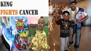 Cancer Fighting 5 Year Old KING, He's A Gamer & A Inspiration To The World - We Got Game