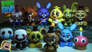 Five Nights at Freddy s FNAF Mystery Minis FUNKO Vinyl Figures Case Unboxing Review